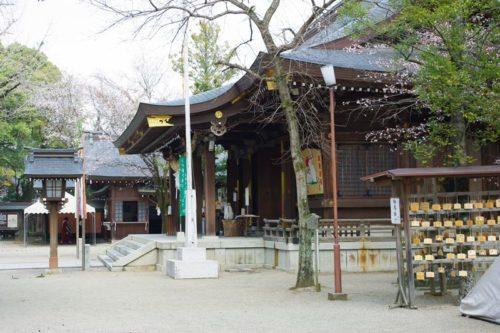 菊池神社境内