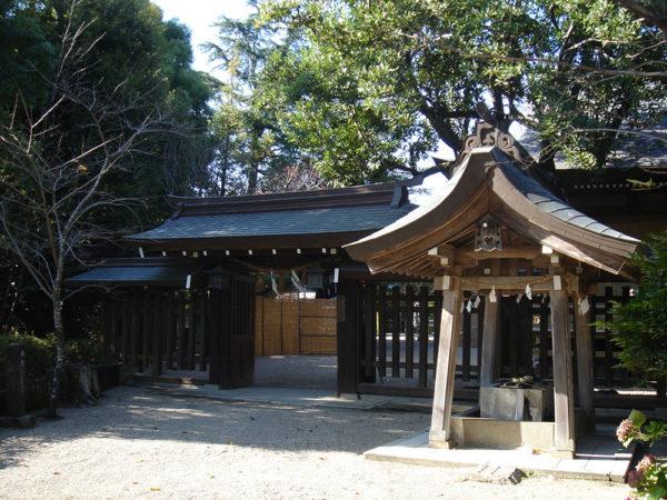 菊池神社東門