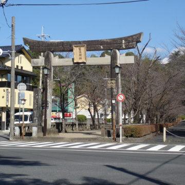 菊地神社鳥居