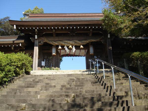 菊地神社|神門