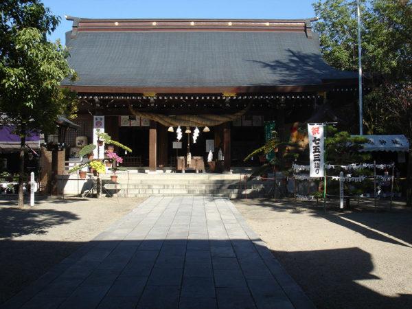 菊池神社|拝殿